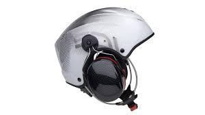 Casque Solar X Carbon blanc avec visière et headset Peltor x5