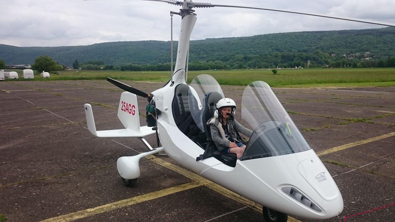 Réserver un vol en Autogyre