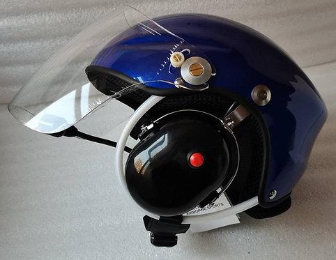 Casque ULM  VUDUCIEL GD-C-01  complet, avec prise radio, noir, blanc, ou bleu