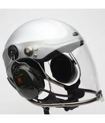 Casque Rollbar Pearl White avec visière et headset Peltor x5