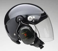 Casque Scarab Carbon avec visière et headset Peltor x5
