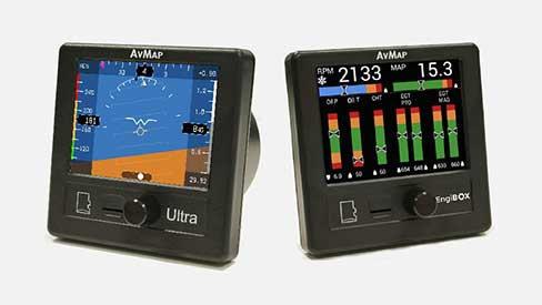 Ultra EFIS + Engi BOX KIT