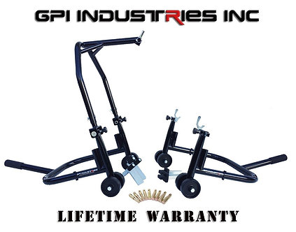 Factory Blemish Pro Series 2 - Front Headlift and Rear Stand Set - Black