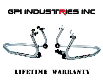 Factory Blemish GP Pro Series - Front and Rear Stand Set - Silver