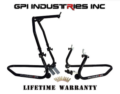GP Pro Series - Front Headlift and Rear Stand Set - Black