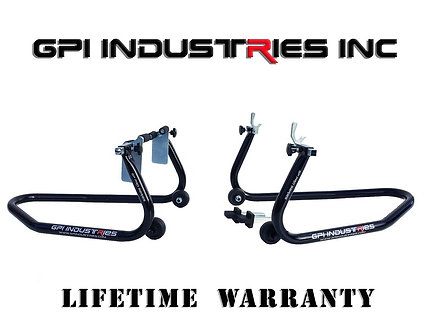 GP Pro Series - Front and Rear Stand Set - Black