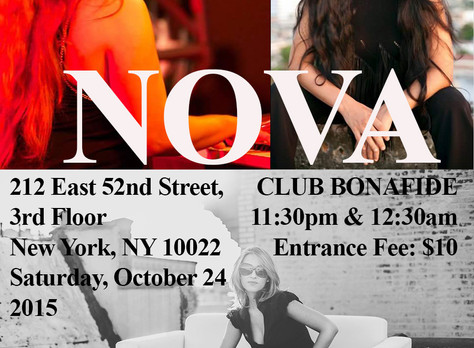 NOVA - Club Bonafide - New York 2015