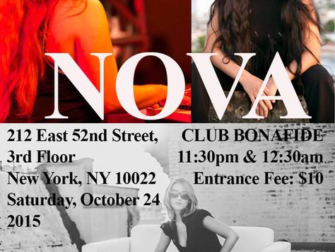 NOVA - Club Bonafide - New York 2015