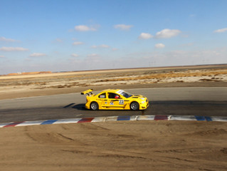 Winter testing at Buttonwillow Raceway