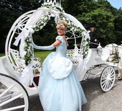 Off to the Ball on her Royal Coach