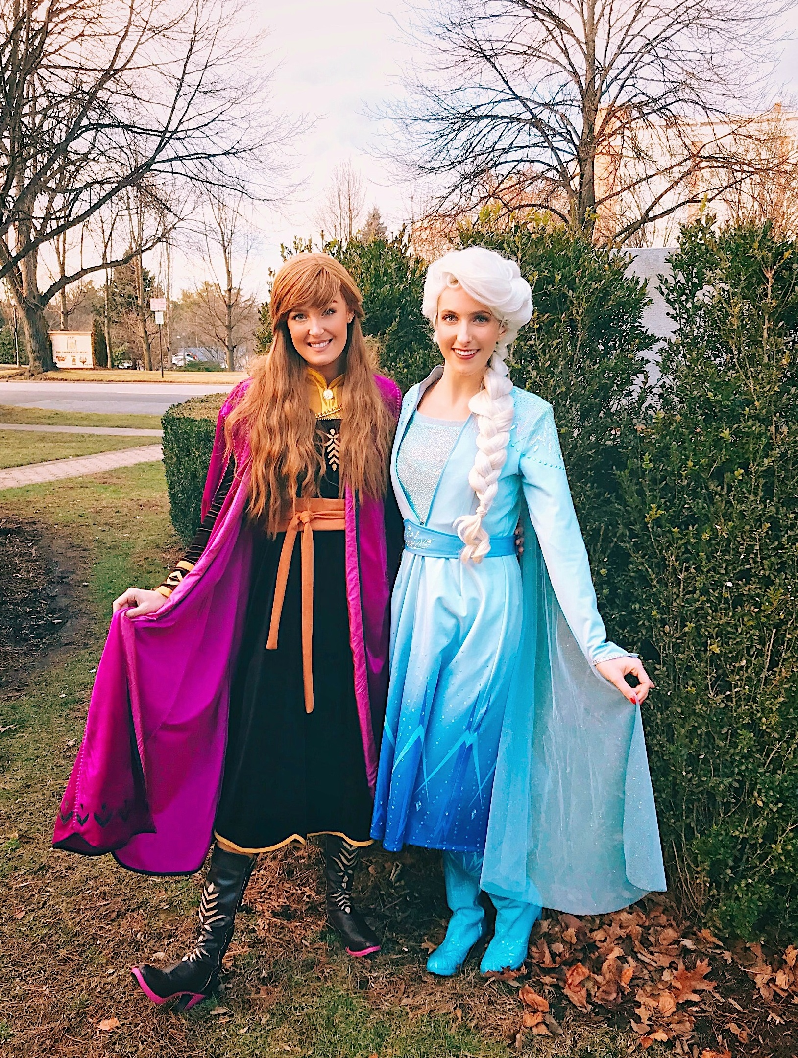 The Royal Winter sisters