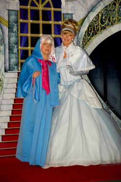 Royal Ball princess and God mother