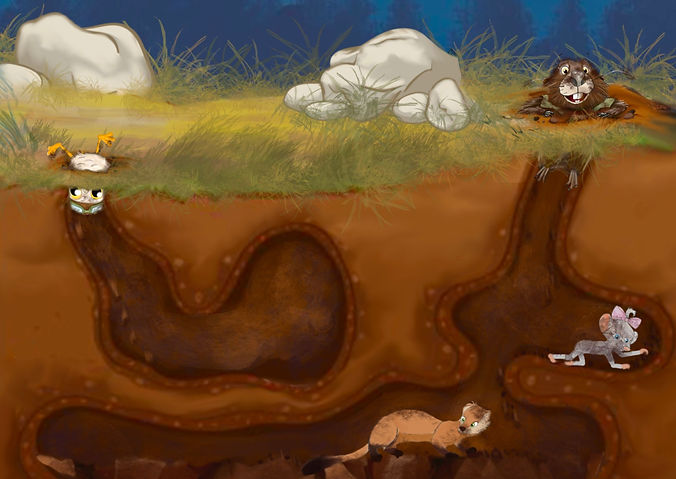 Marvin The Mindful Marmot Childrens Book
