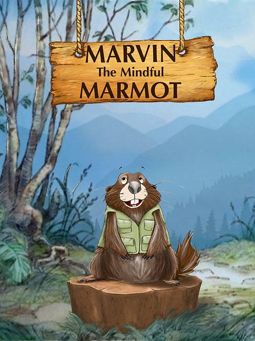 Marvin The Mindful Marmot