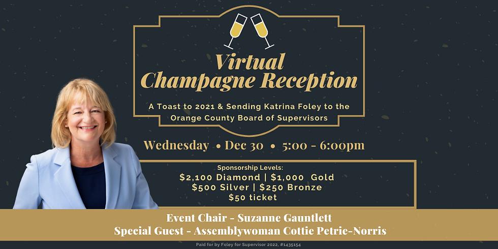 Virtual Champagne Reception