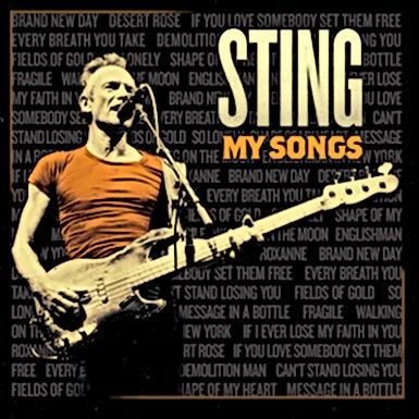 Nieuw album van Sting heet 'My Songs'
