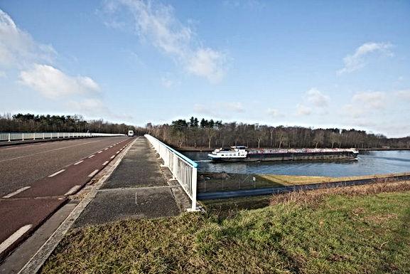 Eerste weekend van maart start afbraak van brug over Albertkanaal