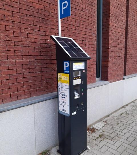 Nieuwe parkeerautomaten in Tongeren centrum