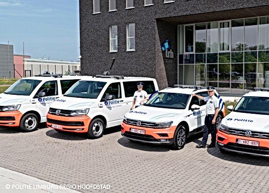 Nieuwe voertuigen voor de politie Limburg Regio Hoofdstad