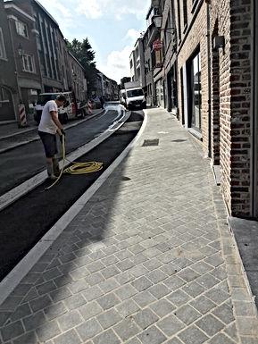Brugstraat in Bilzen wordt vandaag om 18u feestelijk geopend