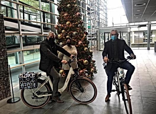 Elektrische fietsen voor stadspersoneel Tongeren