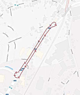 Hoge boetes voor negeren van doorlopende lijn ter hoogte van de Lidl in Bilzen