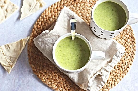 Weet wat je eet: Broccoli-Courgette soep