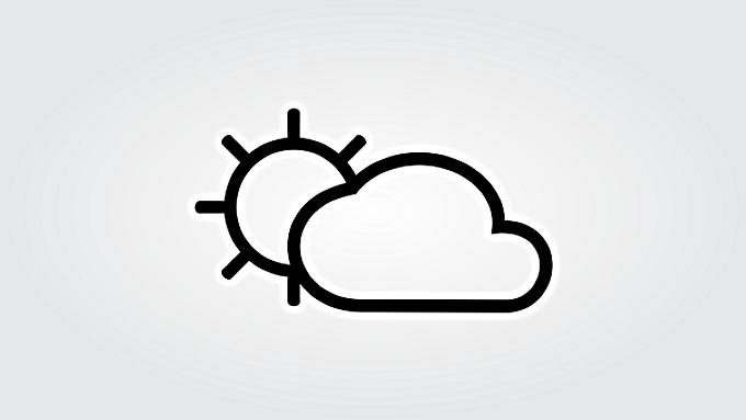 WEERBERICHT: Zon en wolken wisselen elkaar af