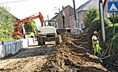 Wegenwerken in Martenslinde blijven aanslepen
