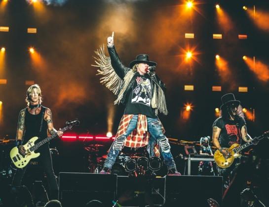 Guns N' Roses 3e headliner op Pinkpop