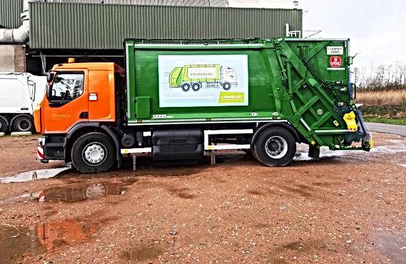 Limburg maakt kennis met eerste milieuvriendelijke afvalwagen