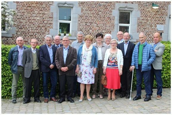 70-jarigen Martenslinde vieren samen feest