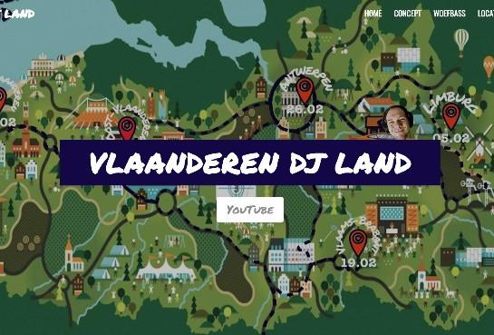 Vlaanderen DJ Land start in Limburg
