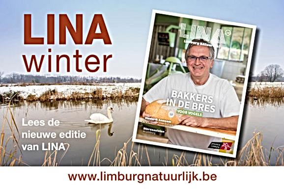 Het nieuwe LINA-magazine is er