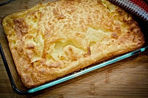 WEET WAT JE EET: Ovenschotel van bloemkool met aardappel en spekjes