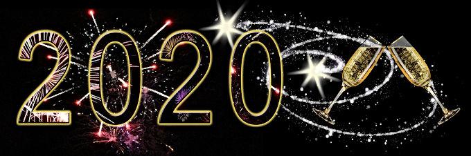 Bilzenaren toosten op het nieuwe jaar