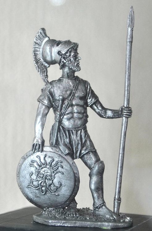 Спартанский гоплит, 5 век до н.э.