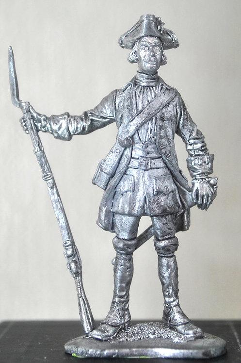 Фузелёр армейской пехоты. Россия, 1732-42 гг.