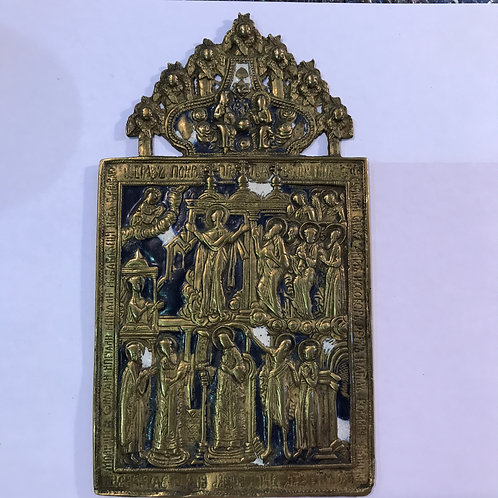 Покров Пр. Богородицы, XIX век
