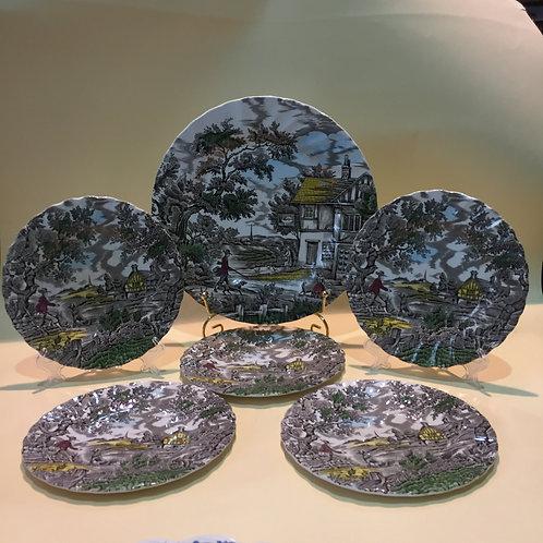 Набор тарелок, Англия