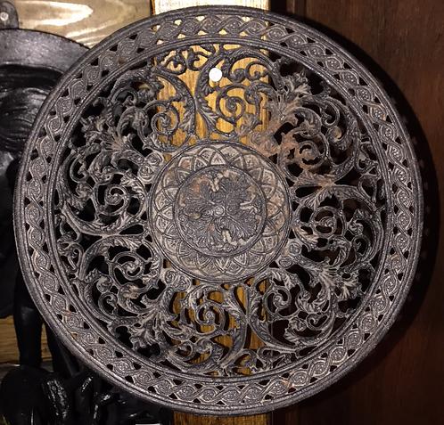 Ажурная тарелка