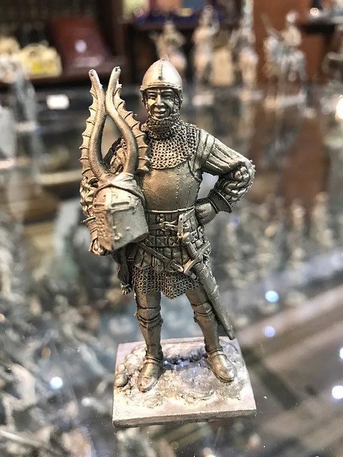 Европейский рыцарь, конец 14 века