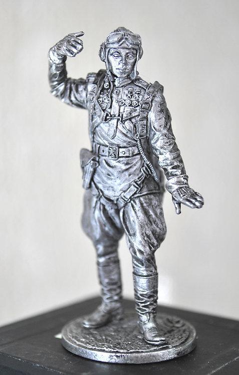 Командир эскадрильи 178-го гв. истр. авиационного полка Кирилл Евстигнеев