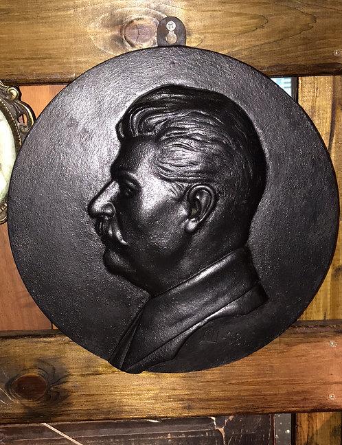 Барельеф «И.В.Сталин»