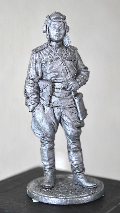 Гвардии майор командир танкового ботальона