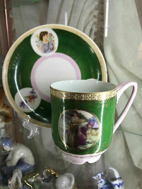 Чайная пара (большая), 1927-1930 гг
