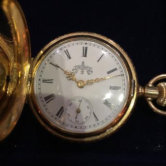 Дамские карманные часы