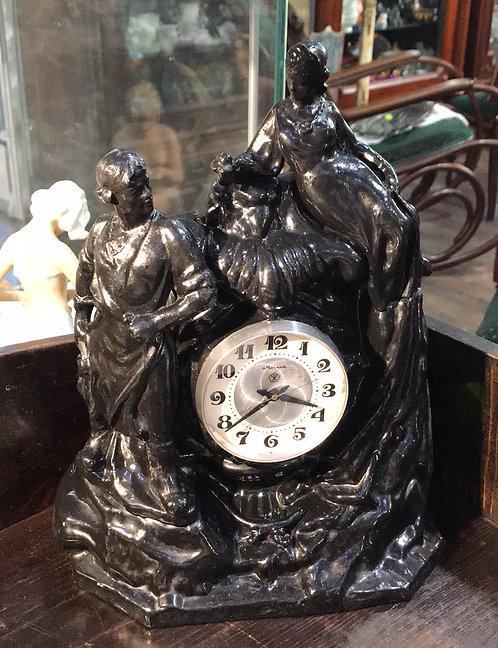 Часы «Хозяйка медной горы», Силумин