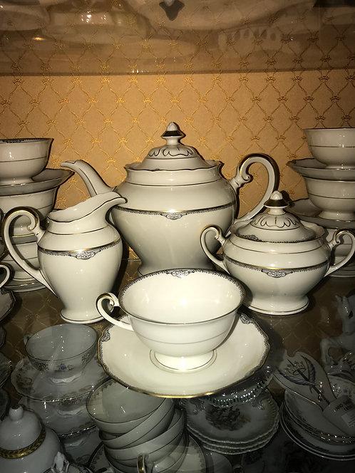 Чайный сервиз на 12 персон, Германия, 1950-64 г.
