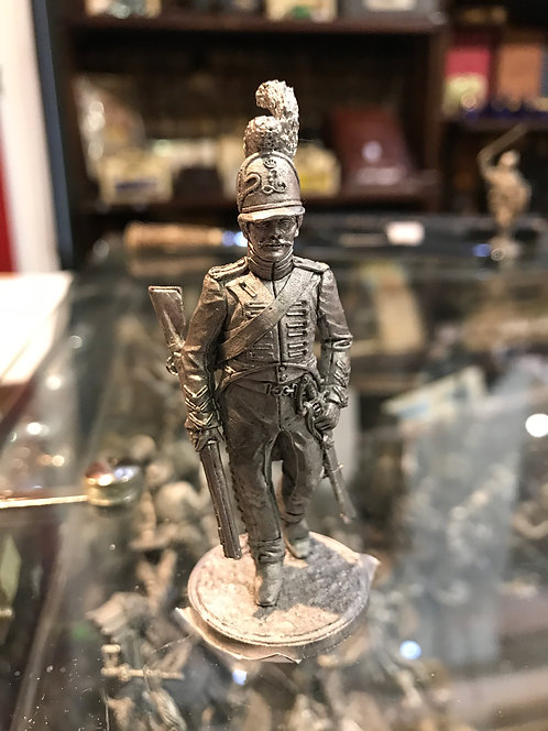 Корнет вольтижёров лёгкой пехоты. Франция, 1809-13 гг.